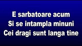 Amna - E sarbatoare acum (VersuriLyrics)