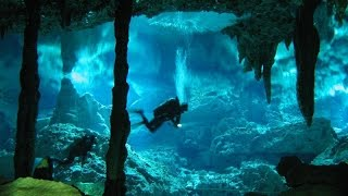 Extreme Deep Underwater Caves Diving - Full  Documentary