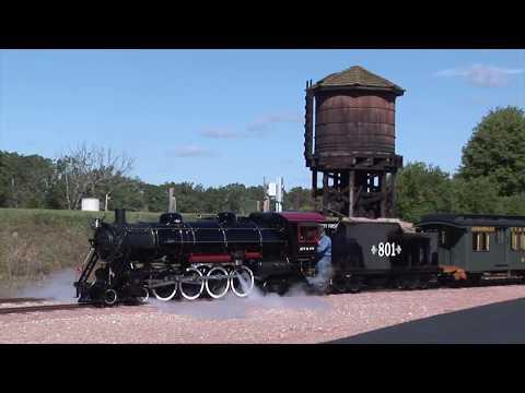 """Backyard"" Railroading on a Grand Scale"