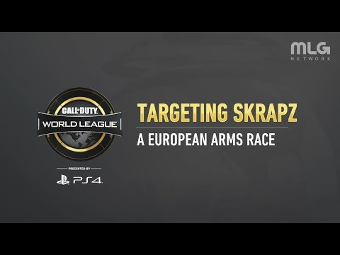 Targeting Skrapz: A European Arms Race | CWL Pro League | Stage 2