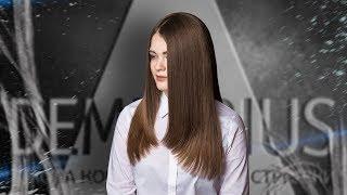 DEMETRIUS | Женская стрижка треугольник на густые волосы | Стрижка на длинные волосы