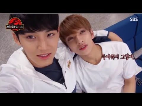 [CC SUB ESP]SEVENTEN Law of the jungle Mingyu-Self camera