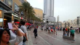 Dubai Fountain Arabic Song. 13.03.2014