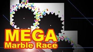 Marble Race - MEGA Marble Run!