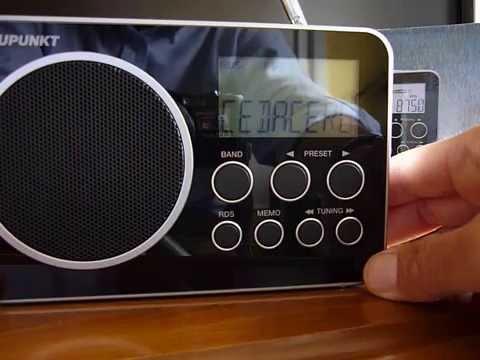 BLAUPUNKT BDR-500 (Radio AM/FM con RDS... y alguna cosa más) - YouTube
