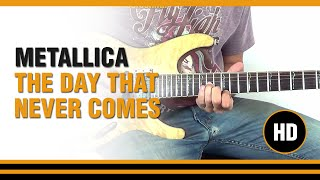 Toca The day that never comes de Metallica en Guitarra electrica  CLASE TUTORIAL