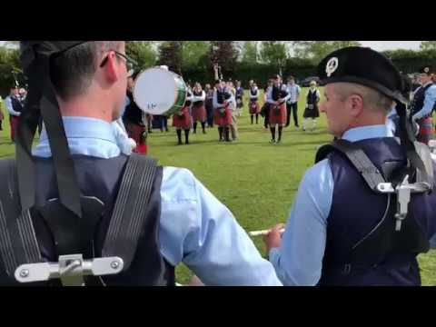 [HD] Field Marshal Montgomery Pipe Band - Wee 6/8's - Paisley 2018