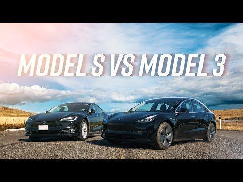 Model 3 vs Model S: The Ultimate Tesla Battle