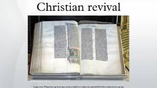 Christian revival
