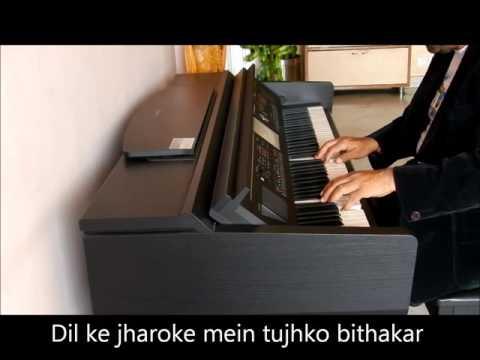 Dil Ke Jharoke Mein, Piano Cover by Gautam Dey
