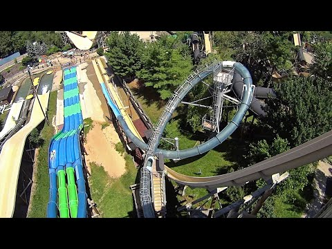 Noah's Ark Waterpark in Wisconsin Dells USA (Deepfunk Music Clip!)