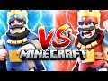 CLASH ROYALE in MINECRAFT
