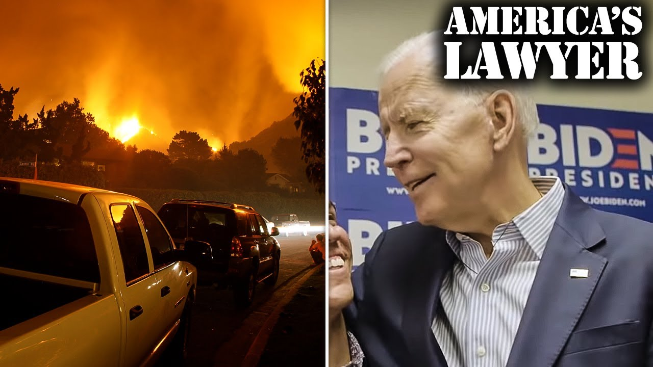 California's Largest Wildfires Bring On Mass Exodus & Biden Leads In National Polls