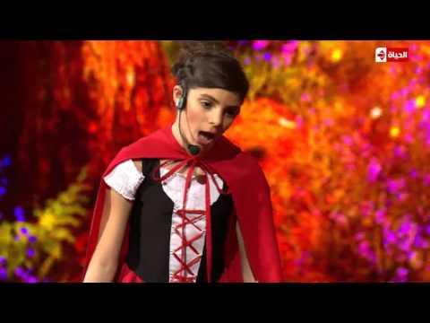 فيديو تينا عبدالله ذات الرداء الاحمر في برنامج نجم الكوميديا HD