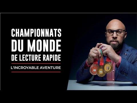 👊BEHIND THE SCENES 1/2 - Championnat du Monde de Lecture Rapide