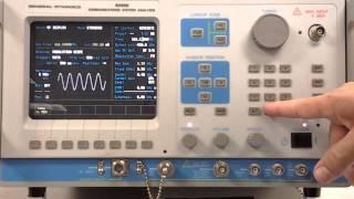 General Dynamics R2600 radio service monitor