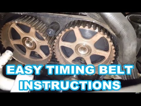 CHRYSLER PT CRUISER TIMING BELT REPLACEMENT how to replace water pump