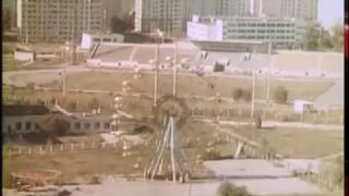 Chernobyl & Pripyat (1988) RARE FOOTAGE - Flying Over The Zone