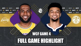 Los Angeles Lakers vs. Denver Nuggets [GAME 4 HIGHLIGHTS]   2020 NBA Playoffs