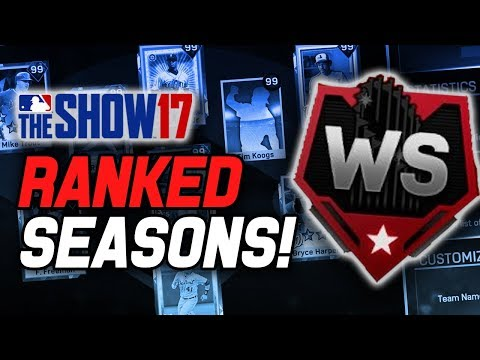 CAN WE HIT WORLD SERIES TONIGHT?! | MLB The Show 17 Diamond Dynasty Ranked Seasons
