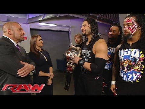 Die Autorität Macht Roman Reigns Das Leben Schwer: Raw – 30. November 2015