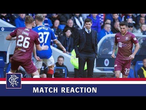 REACTION | Steven Gerrard | Rangers 5-1 St Johnstone