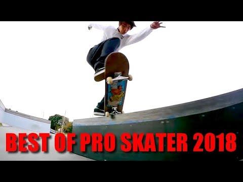 BEST PRO SKATER SKATEBOARD TRICKS 2018 | XXL Skateboarding Tricks Compilation #1