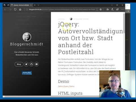 PLZ Und Ort In HTML Formular Autovervollständigen Mit Dem DA FormMaker