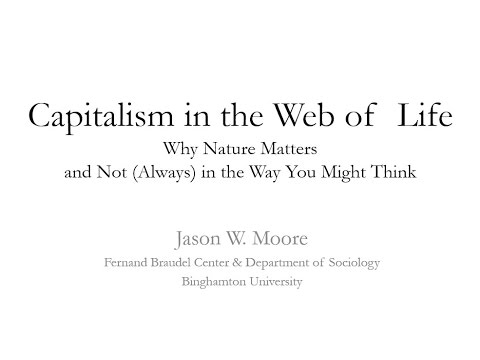 Professor Jason W. Moore - Capitalism in the Web of Life