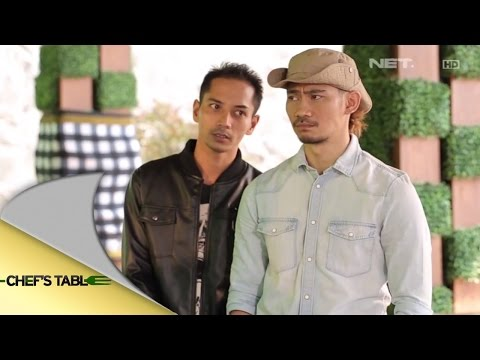 Chef's Table - Invite Fauzi Baadila dan Donny Alamsyah ( Pemeran Film Dibalik 98 )