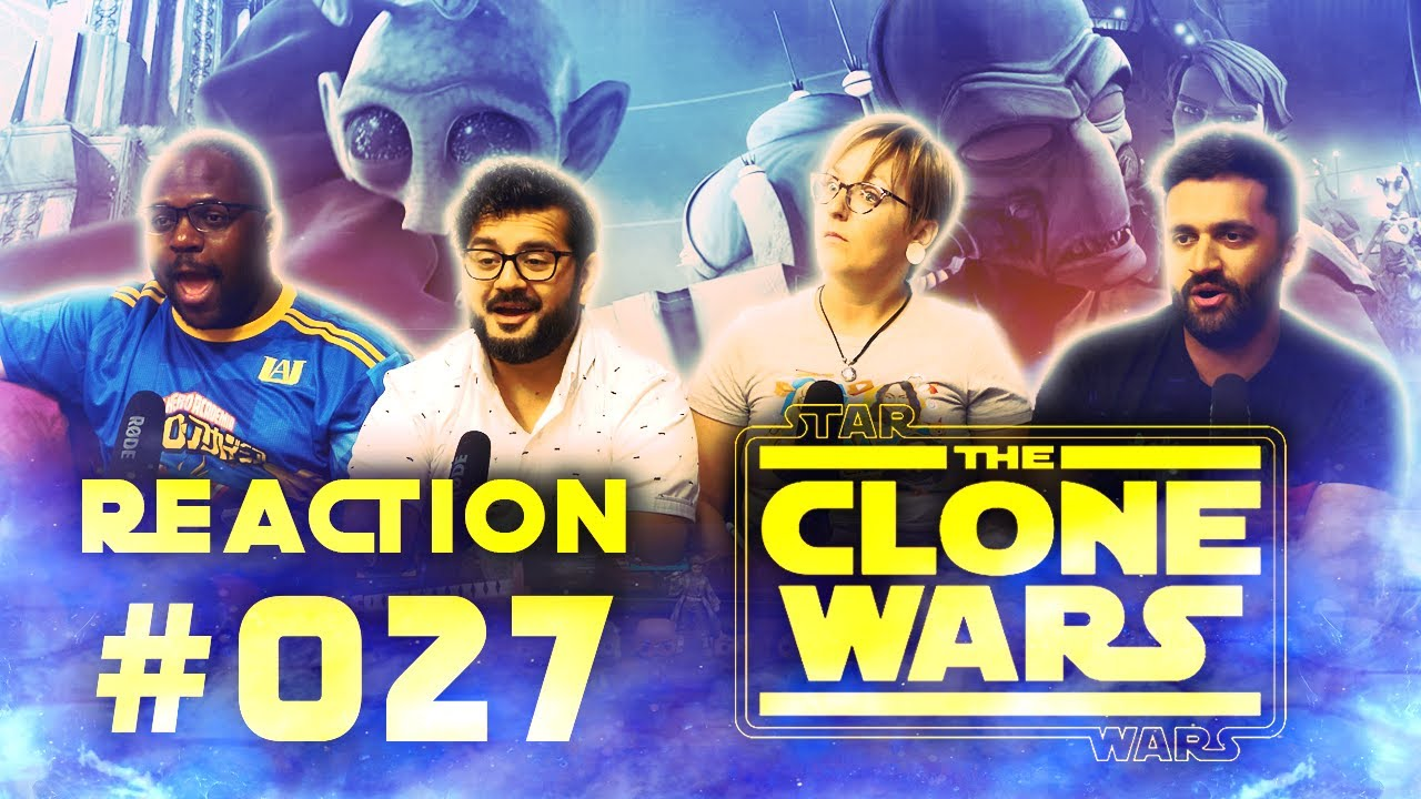 Download The Clone Wars - Episode 27 (2x3) Children of the Force - Group Reaction