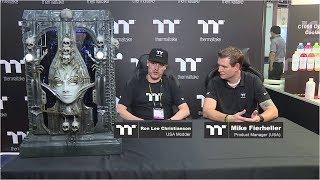 Computex 2017 Thermaltake Modder Interview - Ron Lee Christianson