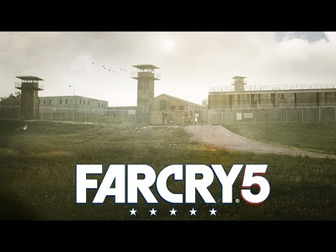 THE WALKING DEAD PRISON REMADE in FAR CRY 5 (PS4 Pro)