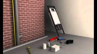 Монтаж инсталляции для унитаза видео(Как правильно установить инсталляцию для унитаза. Видео урок для самостоятельной установки инсталляции..., 2015-08-21T05:29:16.000Z)