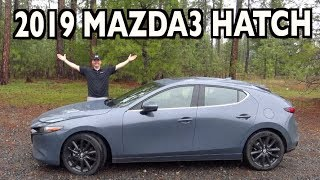 Redesigned & Ready! 2019 Mazda3 Hatch AWD on Everyman Driver