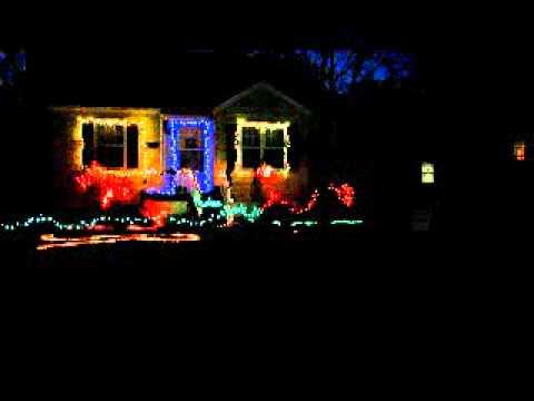 Christmas Light Show 2010