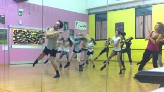 Modern dance class warm up- David Manico