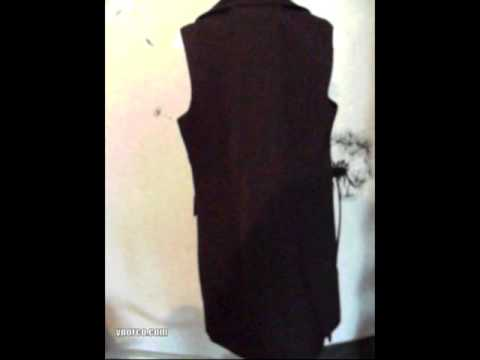 Пиджак без рукавов