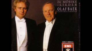 Olaf Bär  / Geoffrey Parsons - Hugo Wolf Mörike Lieder - Gebet