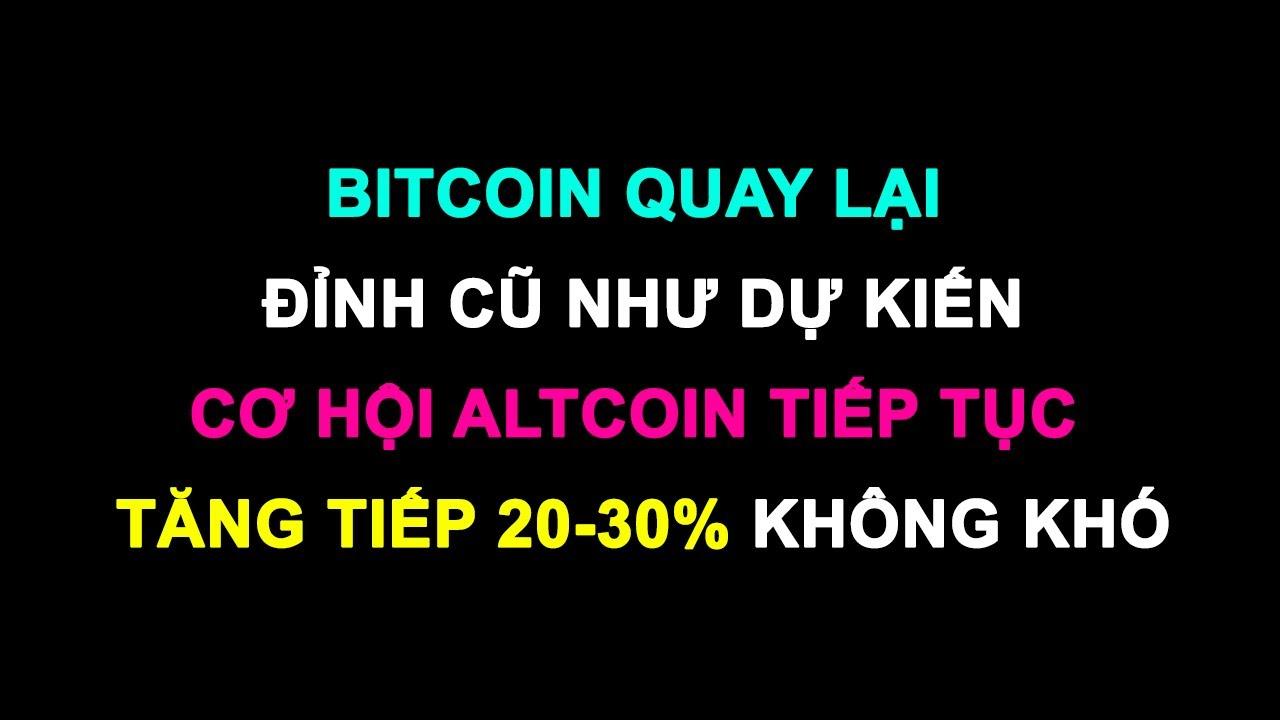#157: Cơ hội altcoin tiếp tục tăng tiếp 20-30% không khó | Minh Thắng Tradecoin