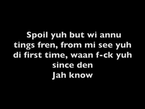 Alkaline- Spoil You (Lyrics)