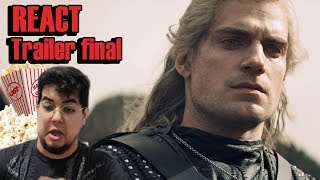 THE WITCHER | TRAILER REACT | NETFLIX | HARDCORN REAÇÃO COMENTADO