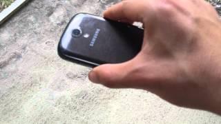 Samsung Galaxy light drop test. for metro pcs amazing result