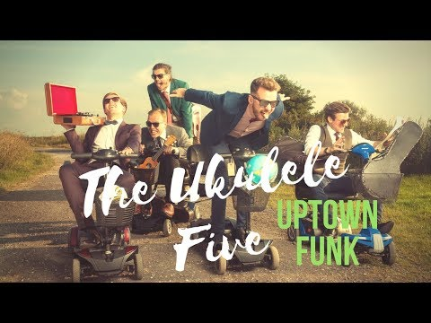 The Ukulele Five // Ukulele Quartet Perform Uptown Funk // Book at Warble Ents