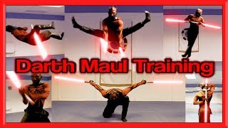 Darth Maul Training in Real Life | Star Wars