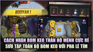 Free Fire | Cách Nhận Bom Keo Thần Hộ Mệnh Ông Vua Bom Keo Giá Cực Rẻ Mua 1 Tặng 2 | Rikaki Gaming