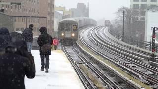 New York City, NY Snow Storm - 2/12/2019