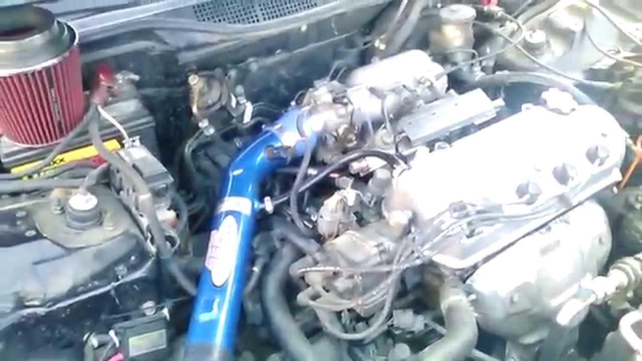 98 Honda Civic EX (automatic) P0505 code  IDLE AIR CONTROL VALVE  YouTube