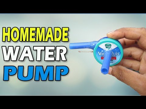 How To Make Water Pump at Home | Technical Ninja