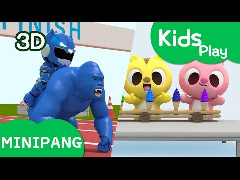 Play Video For Kids With Miniforce | Rescue Animal Play Etc | Best Play | Mini-Pang TV 3D Play